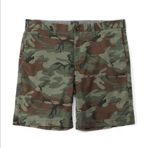 J. Crew Stretch camo short